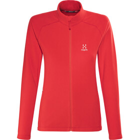 Haglöfs Astro II Jacket Women pop red